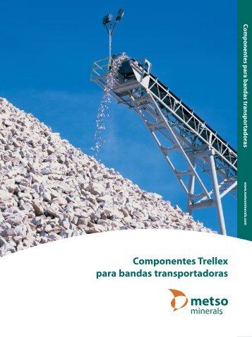 Componentes Trellex para bandas transportadoras - Metso