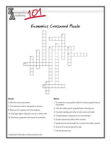 market structures crossword puzzle klein. Black Bedroom Furniture Sets. Home Design Ideas
