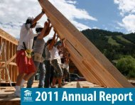 Annual Report - Habitat for Humanity of the Greater Teton Area