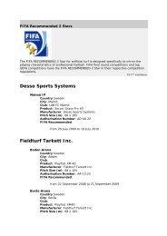 FIFA Recommended 2 Stars - Sundsvall