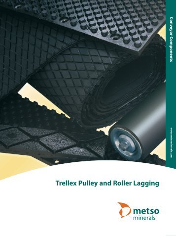 Trellex Pulley and Roller Lagging