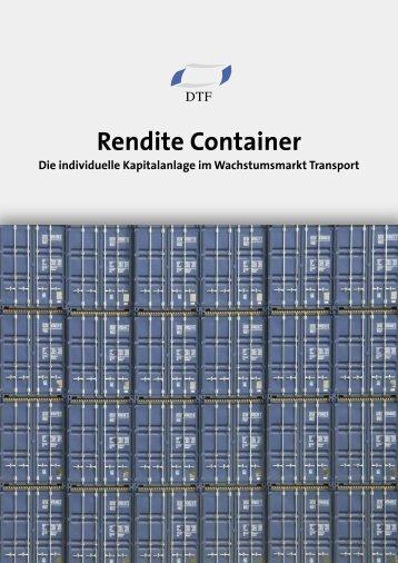 Rendite Container - Finest Brokers GmbH