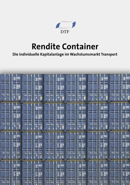 Rendite Container - Finest Brokers GmbH