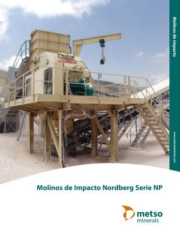 Molinos de Impacto Nordberg Serie NP - Metso