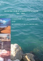 Publications Catalogue - Encyclopedia of Desalination and Water ...