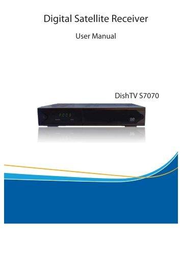 Dish tv s7070