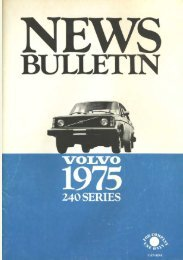 The Volvo 240 Series