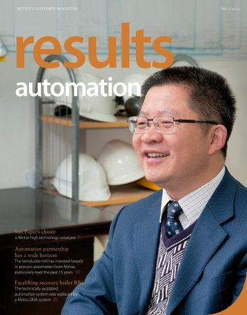 results automation No. 2 - 2011 - Metso
