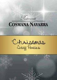 Christmas Menu Staff Parties - NEW