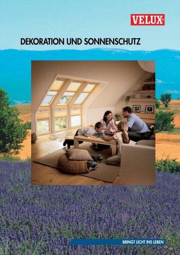 DEKORATION UND SONNENSCHUTZ