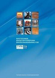 Informationen/Broschüre - TVFA TU-Wien Gmbh