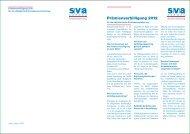 Prämienverbilligung 2012 - SVA Aargau