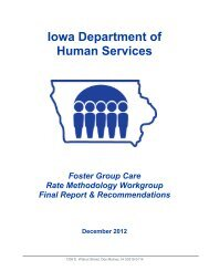 December 2012 Report - Iowa Department of Human Services