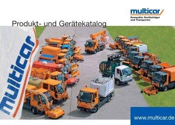 Produkt- und Gerätekatalog - Multicar