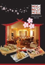 Welcome to the World of Celebrated Modern Japanese Restaurant