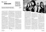 Läs artikeln genom att följa denna länk - Hallowed.se