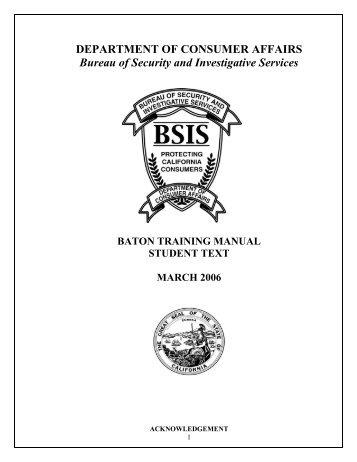 copyright 1996 by armamen rh yumpu com asp baton training manual pdf ASP Baton Certification