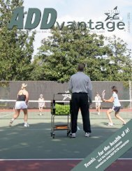 De Part Ments - United States Professional Tennis Association