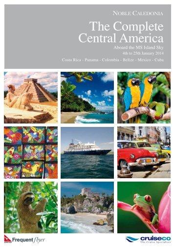 The Complete Central America - Cruising.com.au