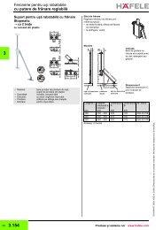 mecanism cu franare pt usa de lemn - Decori