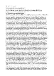 Schrumpfende Städte: Planerische Reaktionen auf den Leerstand