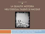 Talenti si nacque del Prof. Gualtiero Guenza FTP ... - Fidal Piemonte