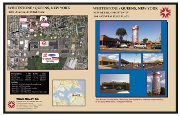 WHITESTONE / QUEENS, NEW YORK 14th ... - Welco Realty, Inc