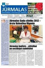 10.01.2013. Nr. 1 - Jūrmalas pilsētas pašvaldība