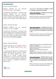 GU n.88 del 15-4-2013 Decreto n. 41 del 29 marzo 2013 ... - ResVet