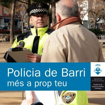 Policia de Barri - Ajuntament de Pineda de Mar