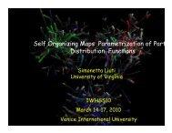Self Organizing Maps Parametrization of Parton Distribution Functions