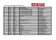 ASTTP Netzwerk Mitglieder (PDF, 100 kB) - Austria Solar