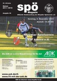 VSF Amern 1910 eV - beim Rheydter SV
