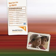 honduras - World Vision