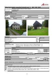 Odhad tržní hodnoty nemovitosti (obvyklé ceny) č. 405 / 166 / 2012 ...
