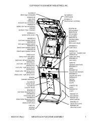 Parts List & Diagrams - Megatouch