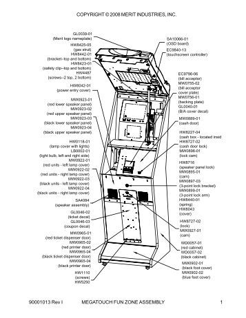 45/25 PTCD & 45/25 PTC/52 Parts List and Wiring Diagram