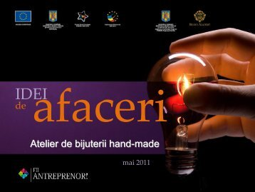 Atelier de bijuterii hand-made - Fii Antreprenor