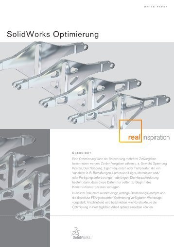 SolidWorks Optimierung - Solid Solutions AG