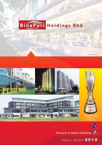 Annual Report - Bina Puri