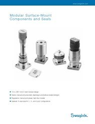 Modular Surface-Mount Components and Seals (MS-02 ... - Swagelok