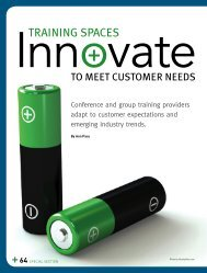 TRAINING SPACES: Innovate to Meet Customer ... - Learning Tree