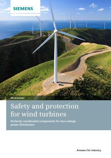 Safety and protection for wind turbines - Siemens