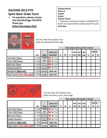 PTO plant sale 2013- ORDER form with logo-1