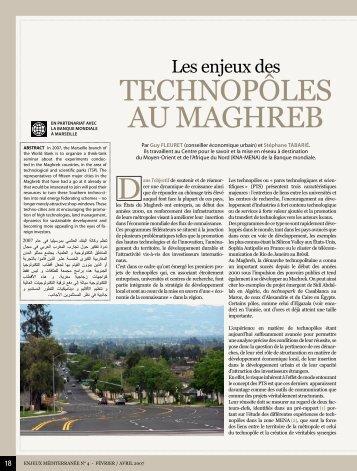 Les Enjeux des Technopoles au Maghreb - Euromedina