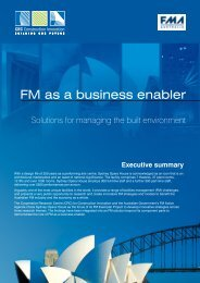 FM as a business enabler [Dec06] - Construction Innovation