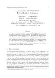 Analysis and Improvement of Policy Gradient Estimation