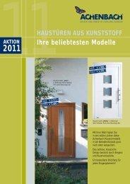 Ihre beliebtesten Modelle - Achenbach Fensterbau GmbH