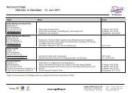 Menüvorschläge Oldtimer in Obwalden – 12. Juni 2011. - O-iO