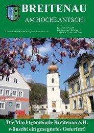 Gemeindeinformation - März 2009 - Breitenau am Hochlantsch